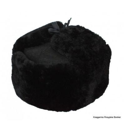 Ушанка черная Цигейка