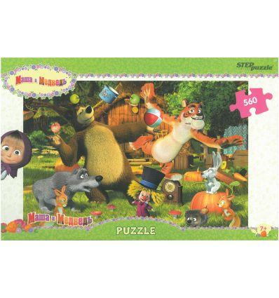 """Puzzle - 560 """"Маша и Медведь"""""""