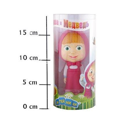 Маша и Медведь: пластизоль Маша в тубе 20*9 см